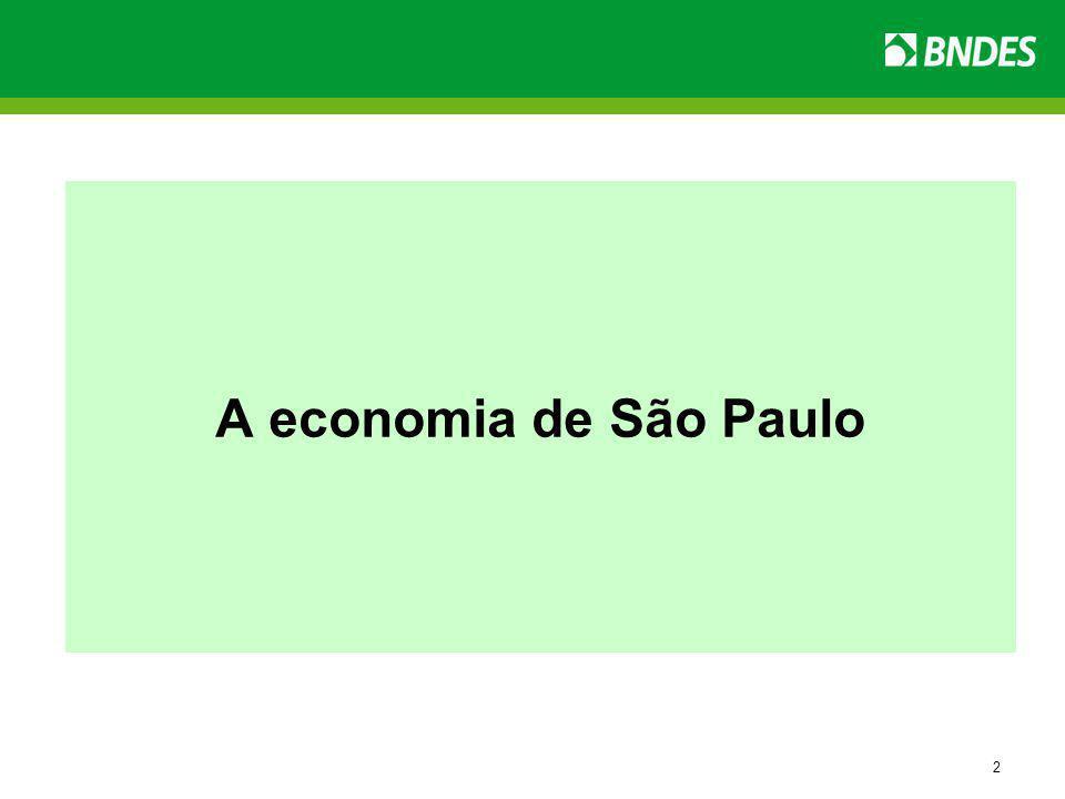 2 A economia de São Paulo