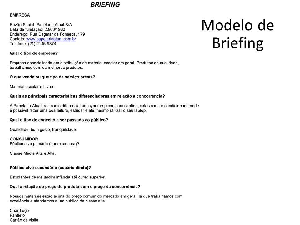 Modelo de Briefing