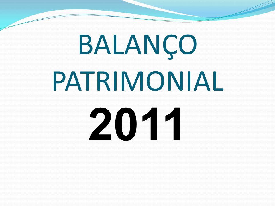 BALANÇO PATRIMONIAL 2011