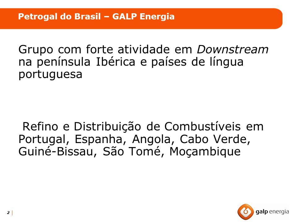 2 Grupo com forte atividade em Downstream na península Ibérica e países de língua portuguesa Refino e Distribuição de Combustíveis em Portugal, Espanh