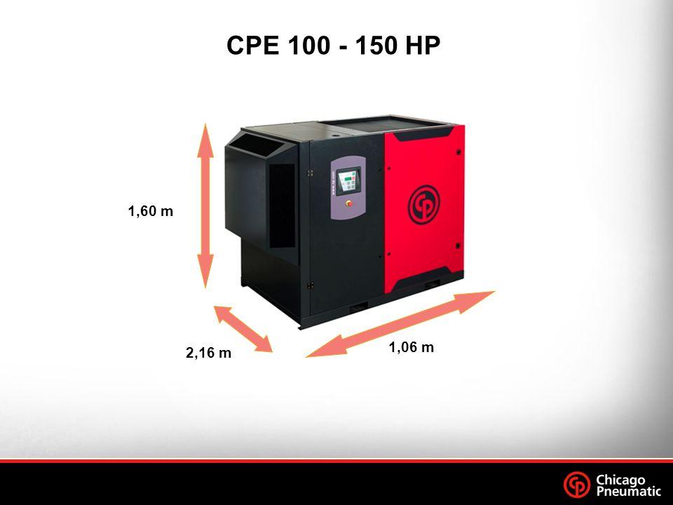 CPE 100 - 150 HP 1,60 m 1,06 m 2,16 m