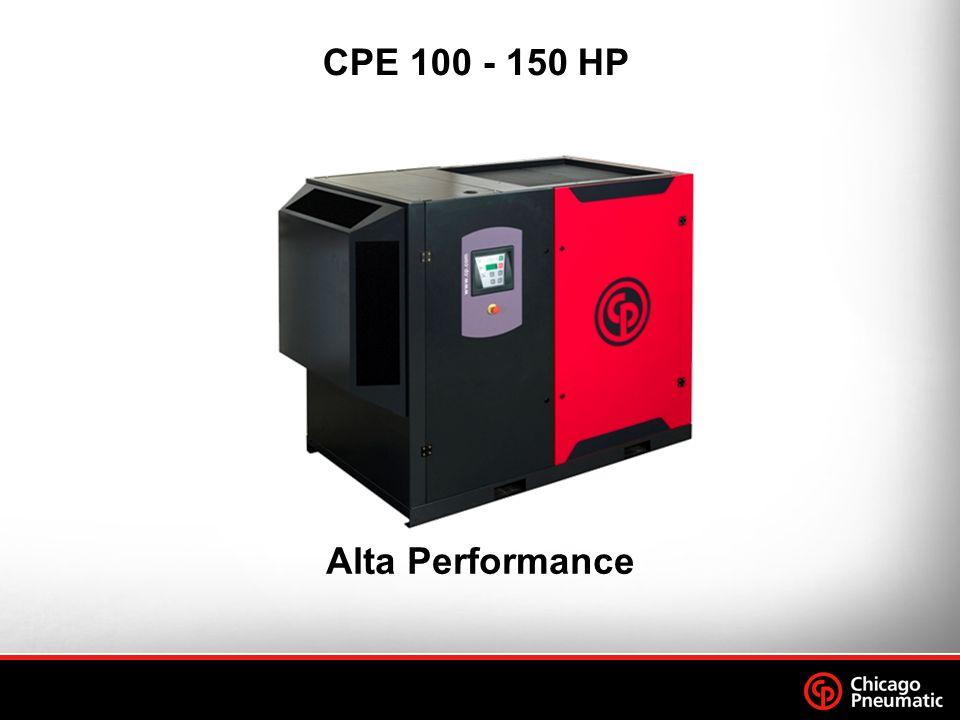 Compressão de Alta Performance Baixo nível de ruído Fácil de operar Confiável Durável Módulo Eletrônico : CPAirlogic Sistema de refrigeração Fácil Instalação CPD 75 - 125 HP Pontos Fortes