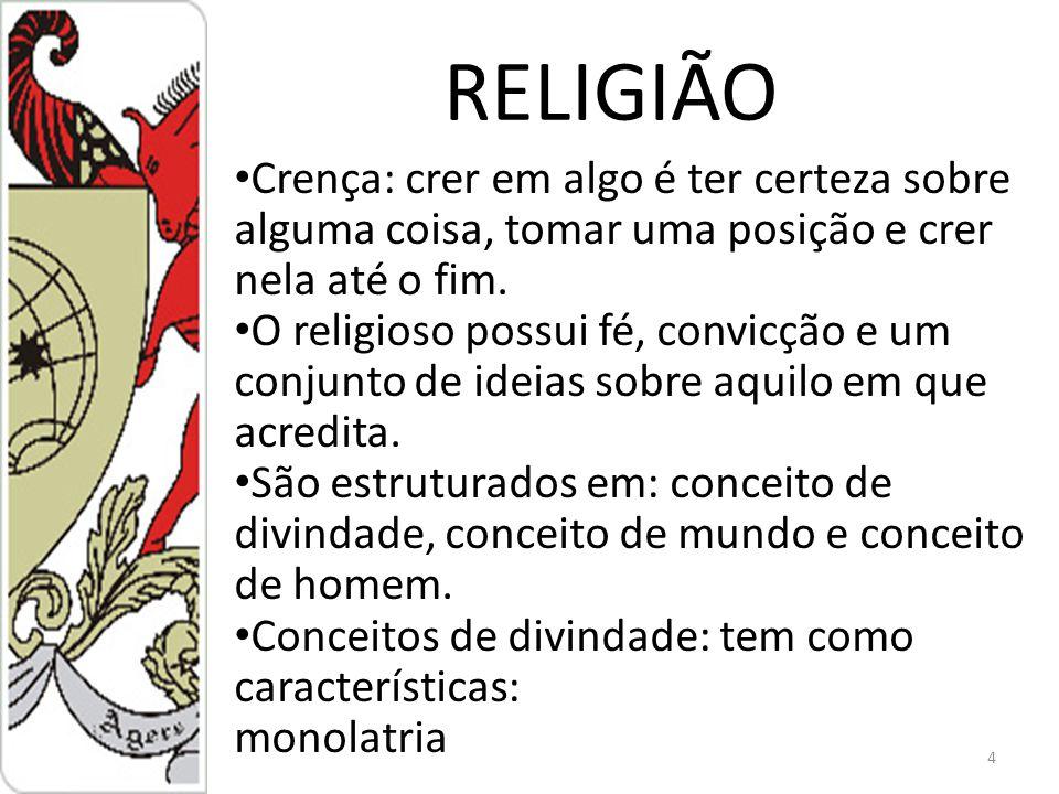 RELIGIÕES NO BRASIL O Brasil possui uma população cristã de 92% Livre concorrência religiosa: Pluralismo religioso 1824: início da Reforma Protestante 75