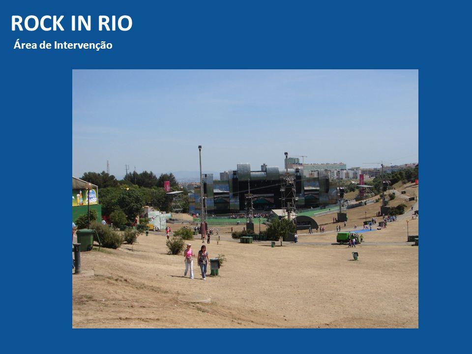 ROCK IN RIO Área de Intervenção
