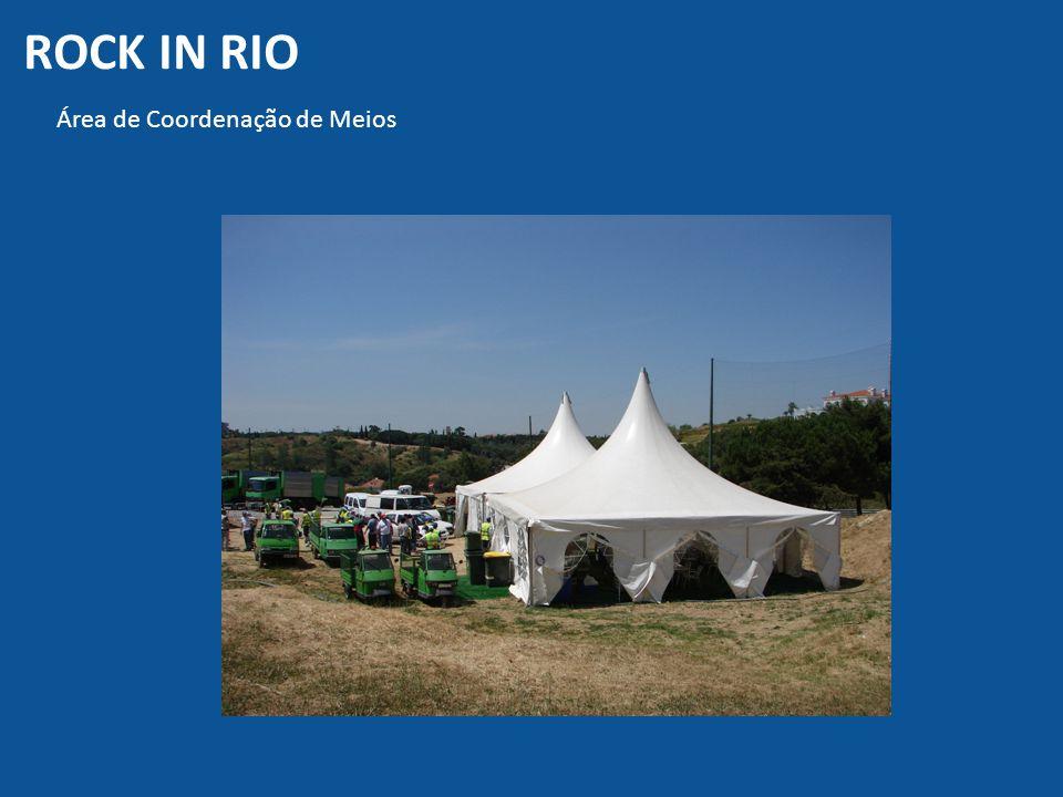 ROCK IN RIO Área de Coordenação de Meios