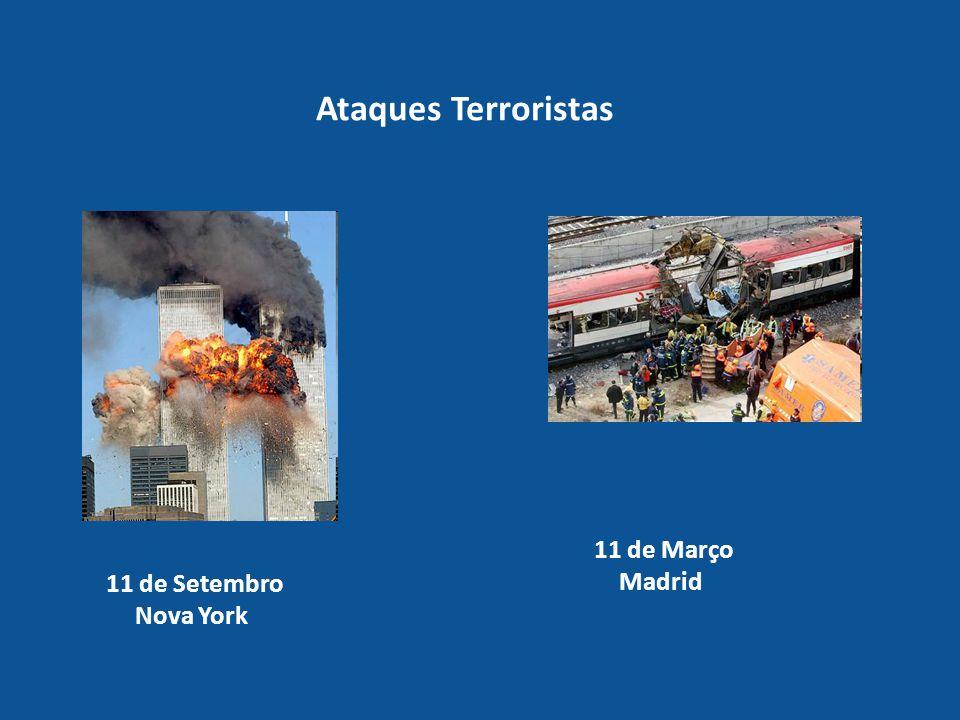 Ataques Terroristas 11 de Setembro Nova York 11 de Março Madrid