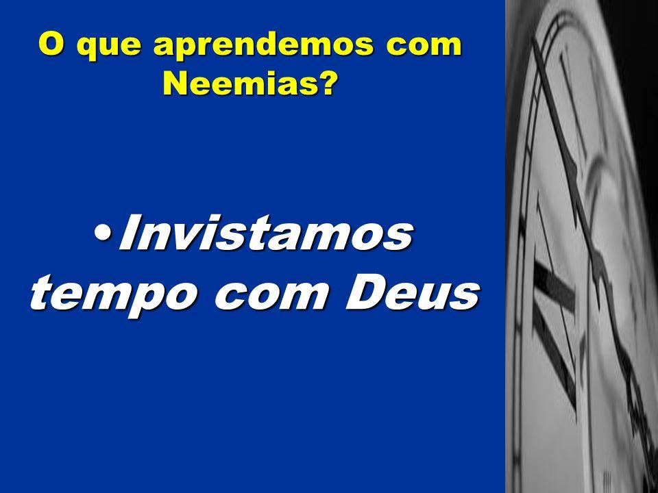 Sejamos corajosos e firmes nas lutas no Reino de Deus O que aprendemos com Neemias?
