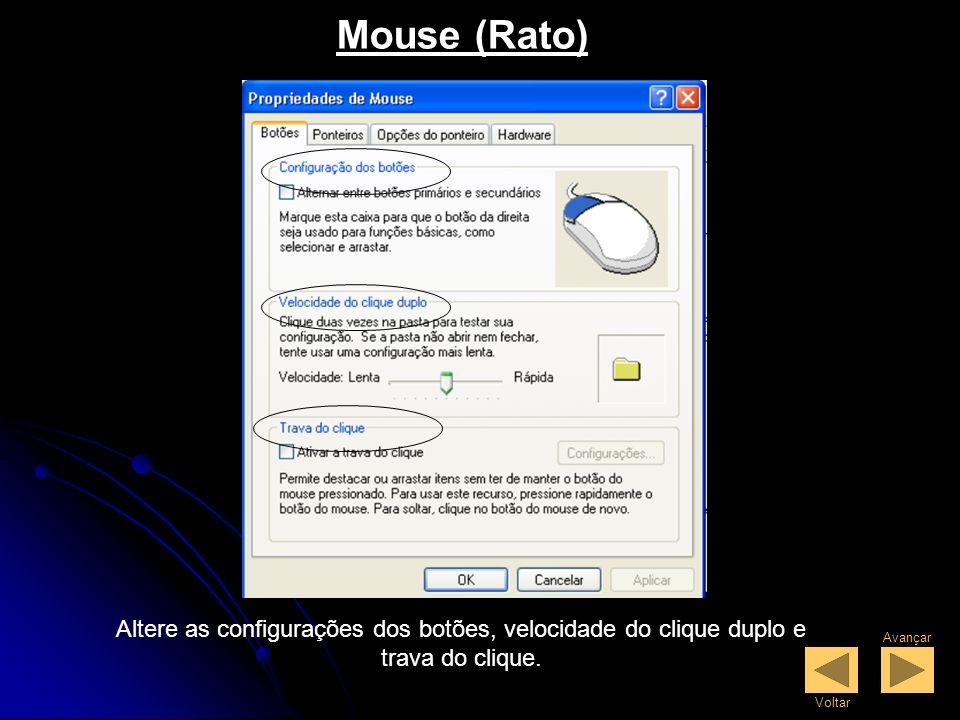Painel de Controle O Painel de Controle serve para alterar a aparência e funcionalidade do Windows Xp.