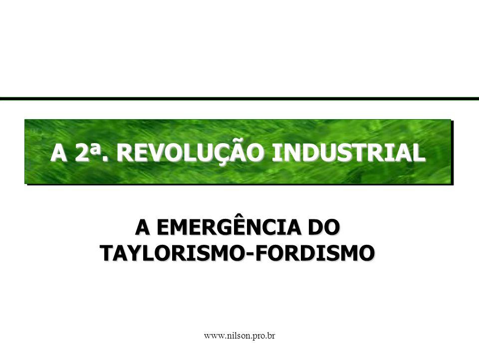 www.nilson.pro.br Como Reagiram os Trabalhadores (século XIX) O próprio sistema de cooperação do capitalismo dá início a: conscientização dos trabalha