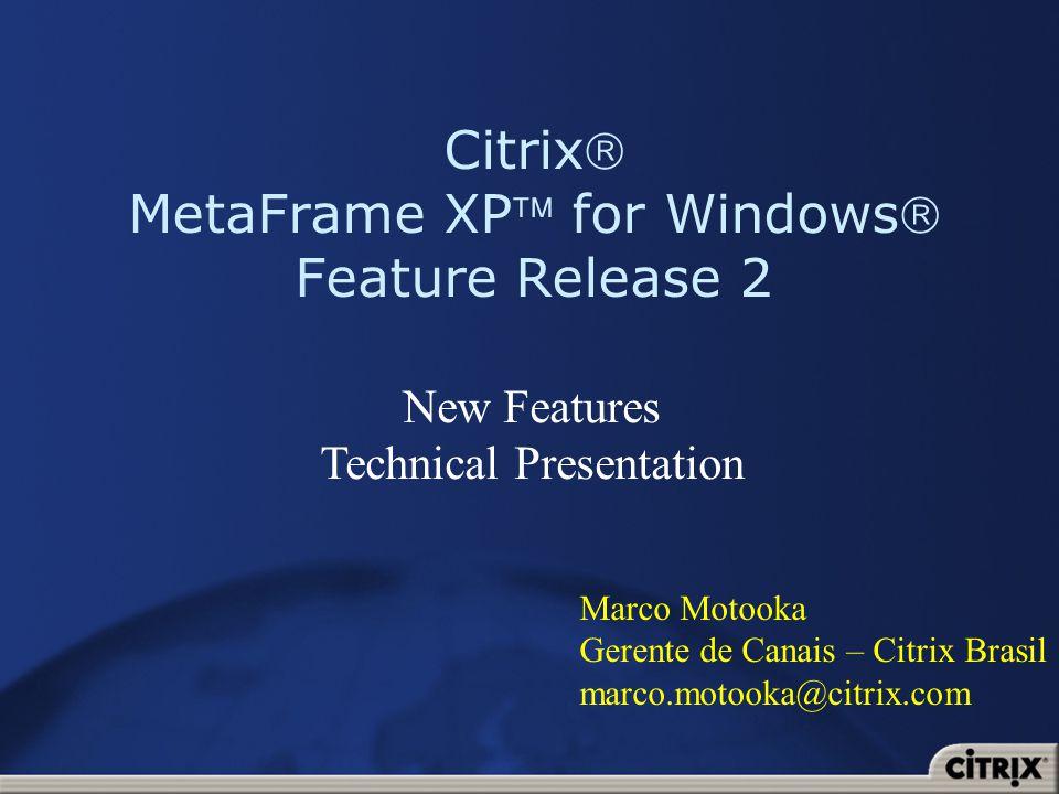 22 Citrix Web Console melhorado Citrix Web Console está mais fácil de usar Novo look and feel Melhor disposição das informações Adicionada busca e filtragem