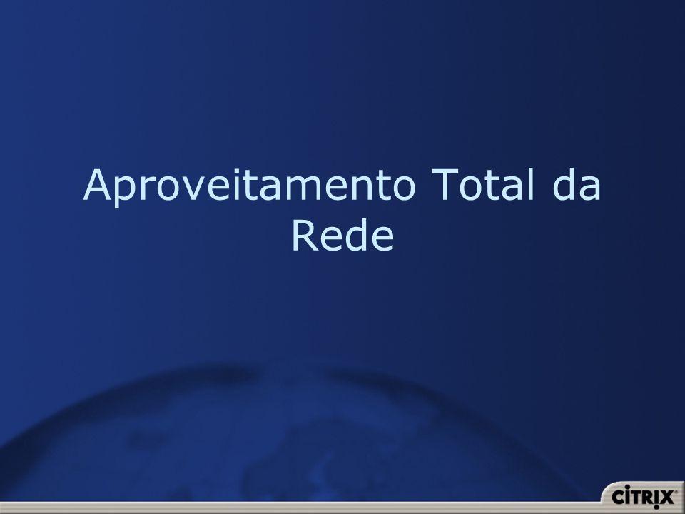 Aproveitamento Total da Rede
