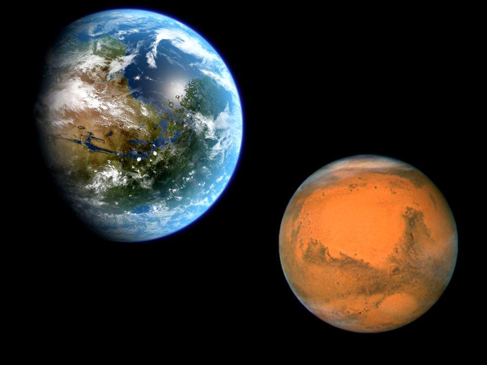 Nos meses de Junho e Julho a Terra estará mais perto de Marte e será a maior proximidade de que se tem conhecimento entre estes dois planetas.