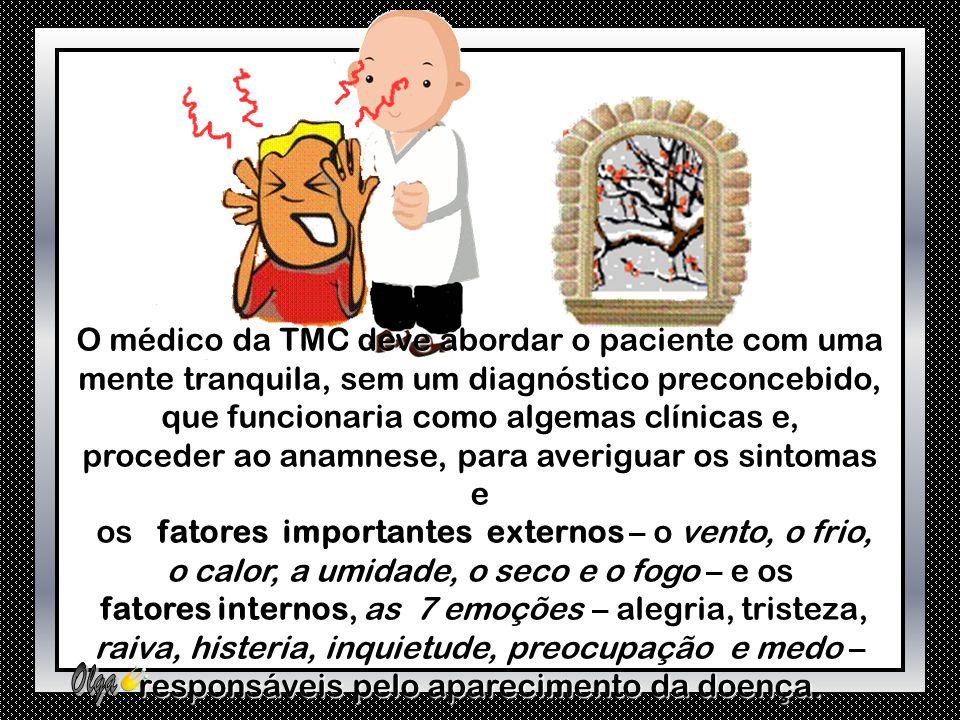 O método de diagnóstico da TMC baseia-se em diversos tipos de exames que envolvem o observar, escutar, tipos de exames que envolvem o observar, escuta