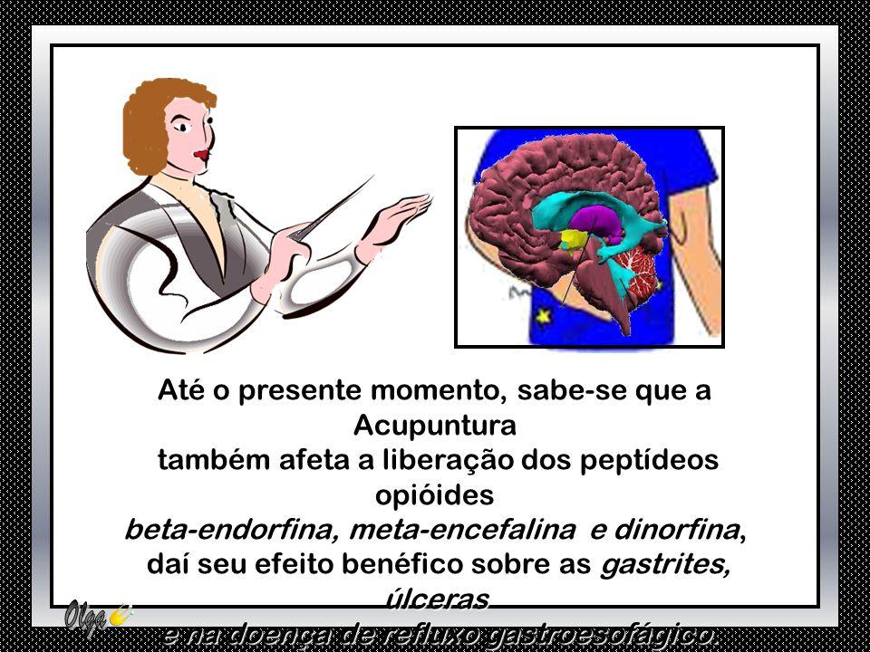 Como a Hipófise é uma Glândula ocasionalmente chamada de Glândula Mãe, que coordena a função de diversas outras glândulas do corpo, o efeito da Acupun
