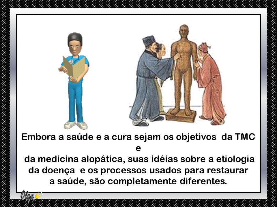 A observação da língua, por exemplo, (cor, forma e saburra) possibilita avaliar a condição energética (Yin e Yang), dos órgãos e das vísceras.