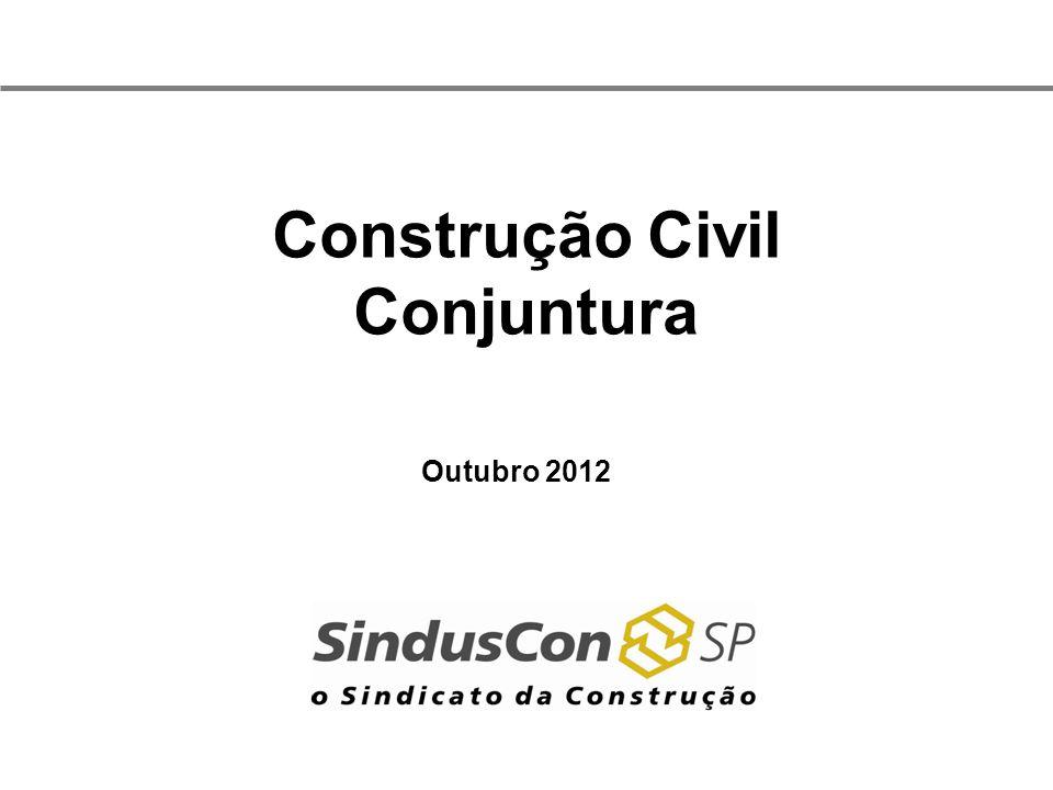 Construção Civil Conjuntura Outubro 2012