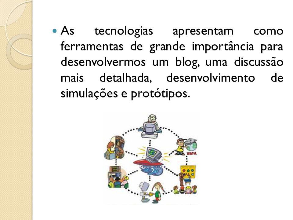 Aplicação: Desenvolvimento de blog:Tialufisca.blogspot.com Aulas diversificadas publicas no Blog da Educação A busca da formação Continuada e a aplicação das tecnologias.