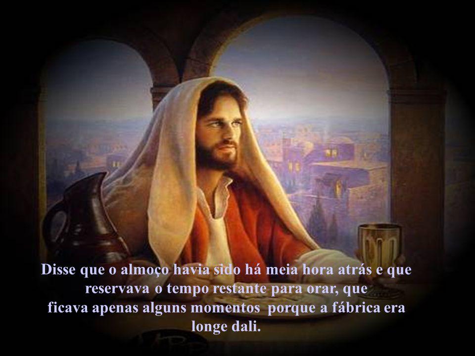 Jesus disse: Se vós tendes vergonha de mim, também me envergonharei de vós diante do meu Pai. E se você não está envergonhado, passe essa mensagem adiante.
