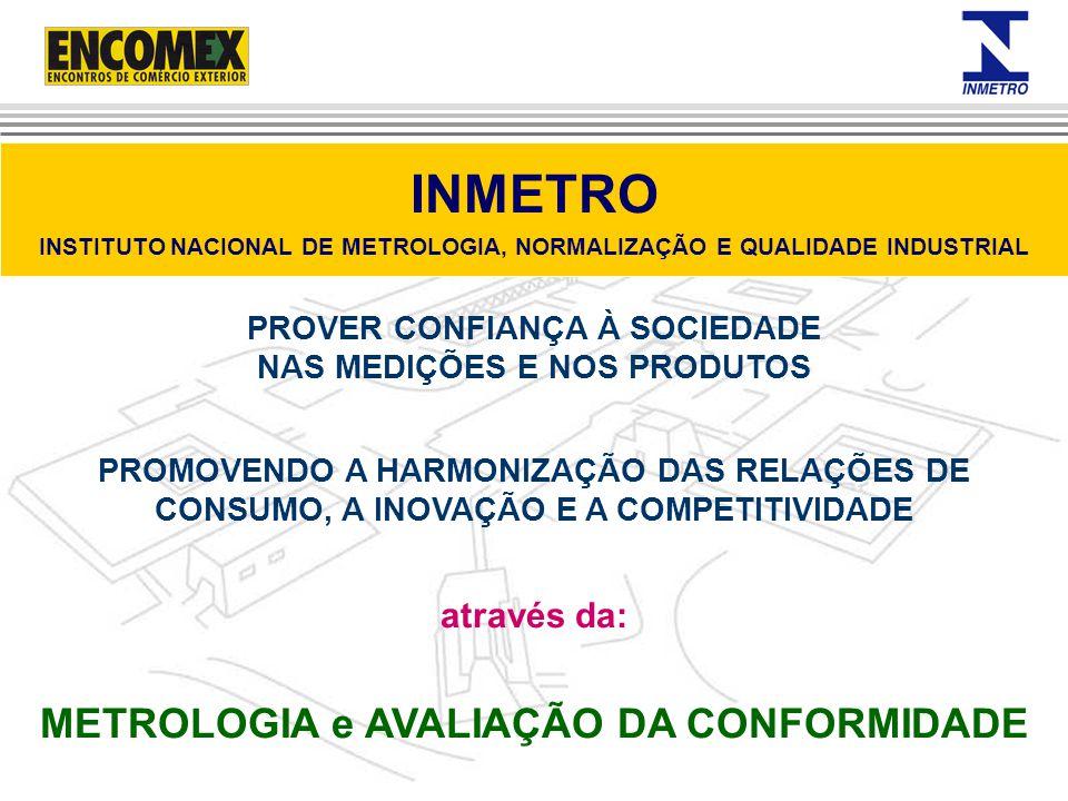 Concorrência justa Estímulo à melhoria contínua da Qualidade Proteção ao consumidor Incremento das exportações Fortalecimento do mercado interno Agregação de valor a marcas de produtos Os benefícios são para todos os segmentos da sociedade.