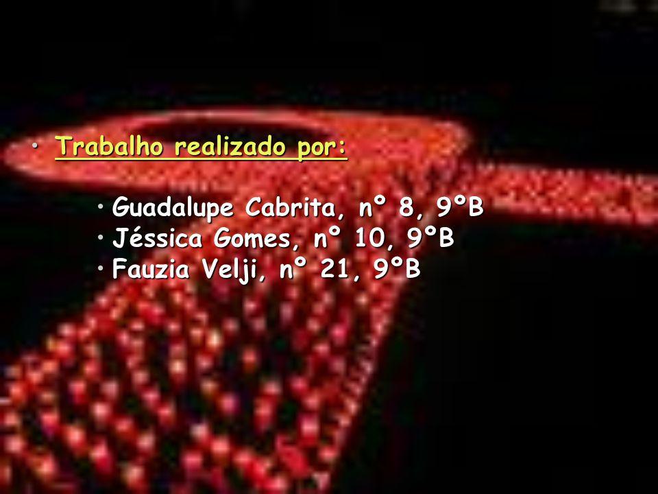 Trabalho realizado por:Trabalho realizado por: Guadalupe Cabrita, nº 8, 9ºBGuadalupe Cabrita, nº 8, 9ºB Jéssica Gomes, nº 10, 9ºBJéssica Gomes, nº 10,