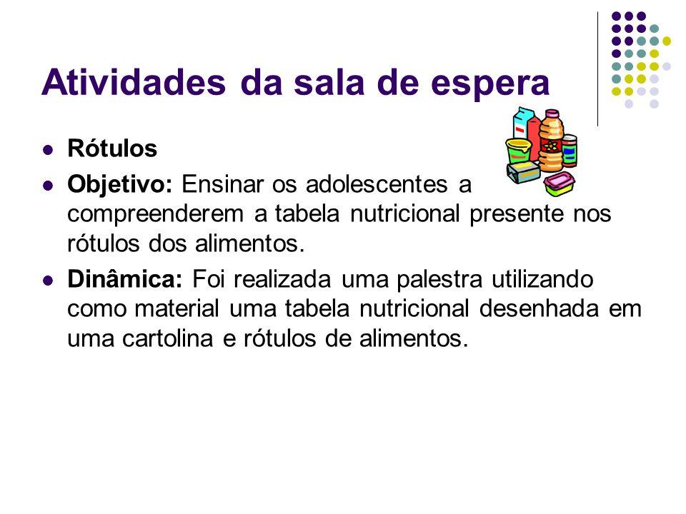 Material visual para consultório O material foi elaborado com o objetivo de incentivar o consumo de frutas, verduras e legumes.
