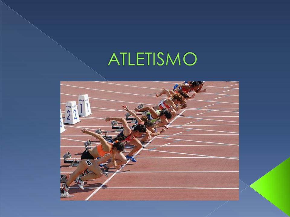 O atletismo é um conjunto de atividades esportivas (corrida, saltos e arremessos), que tem a origem nas primeiras Olimpíadas realizadas na Grécia Antiga.