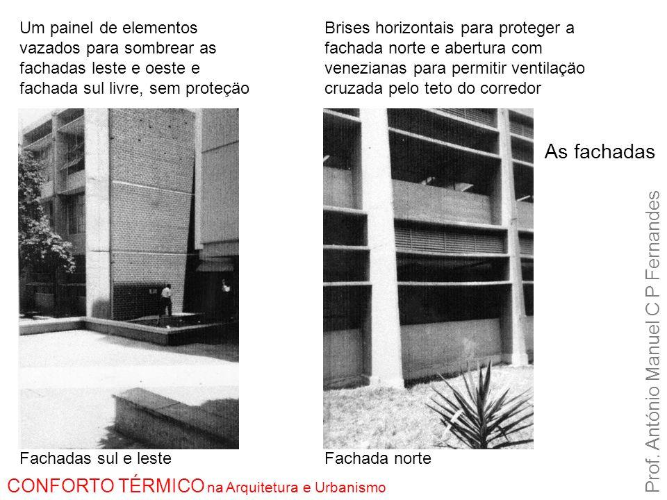 As fachadas Prof.