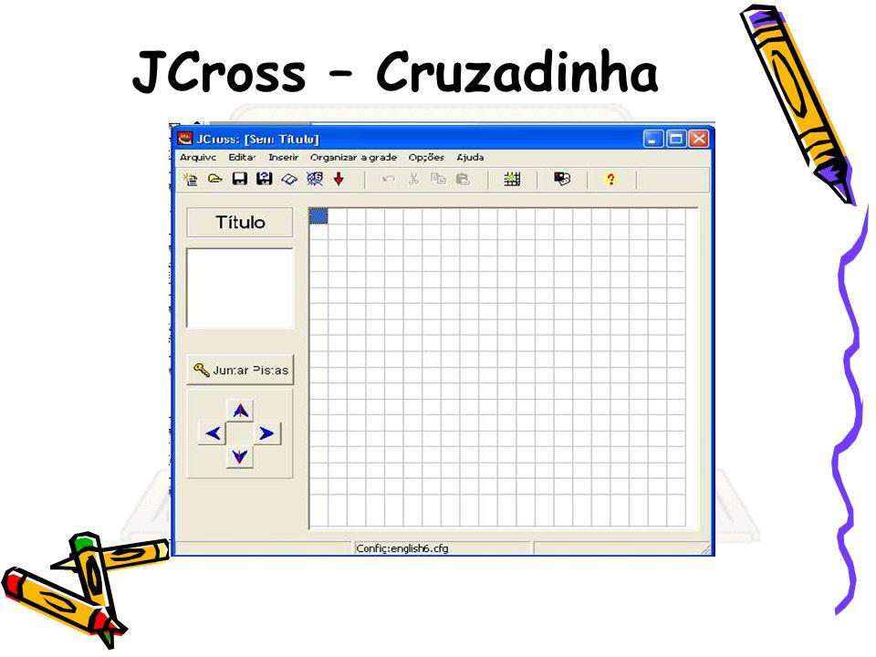JCross – Cruzadinha