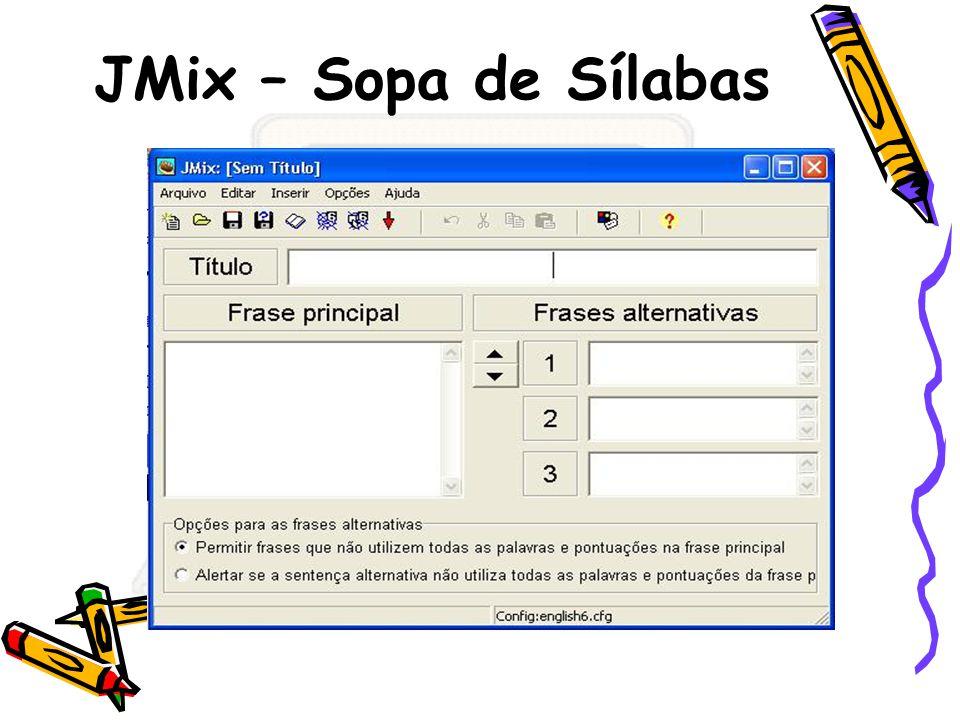 JMix – Sopa de Sílabas