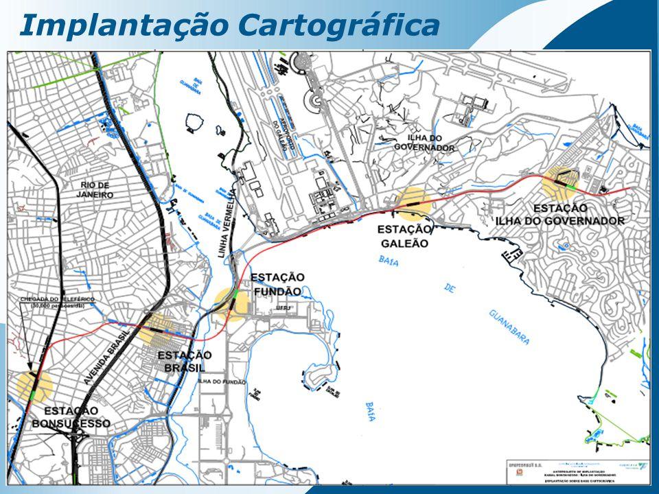 Implantação Cartográfica
