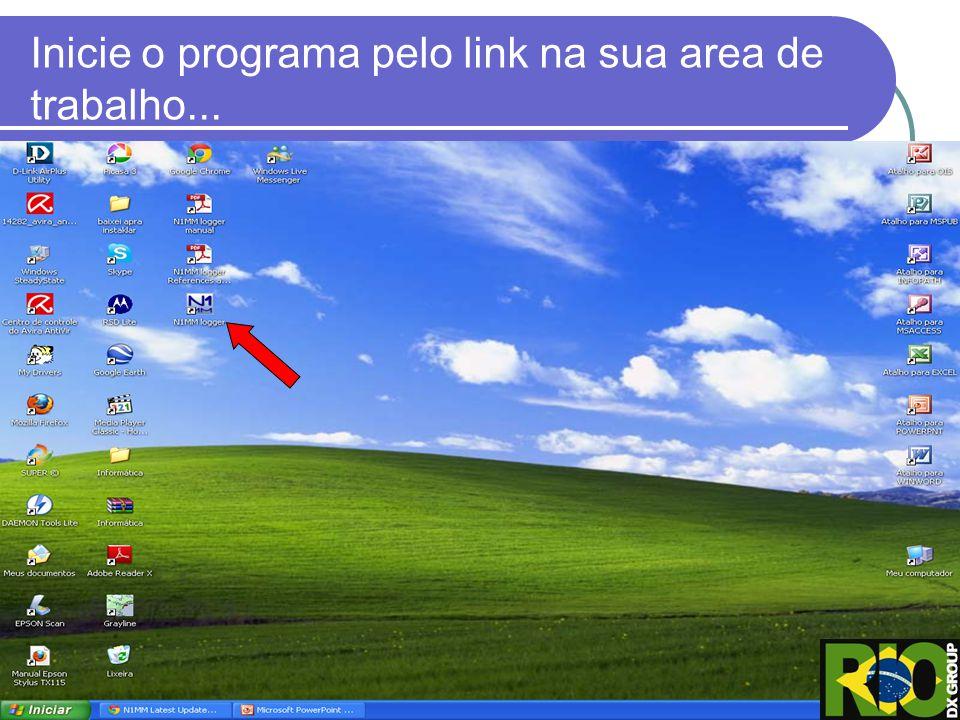 Rover QTH = NC, Club = RIO DX GROUP (ou o de sua preferência), Email Adress = seu email, SMTP = Server