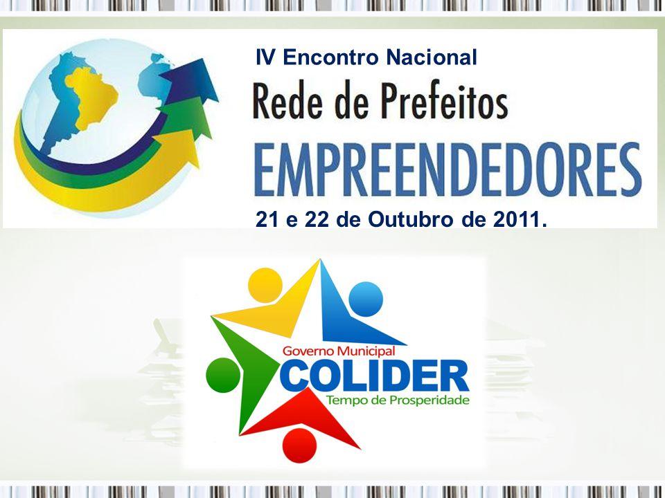 Palestrante: Celso Paulo Banazeski Prefeito Municipal de Colíder-MT Tema: Gestão Empreendedora: Implantação, Práticas e Resultados.