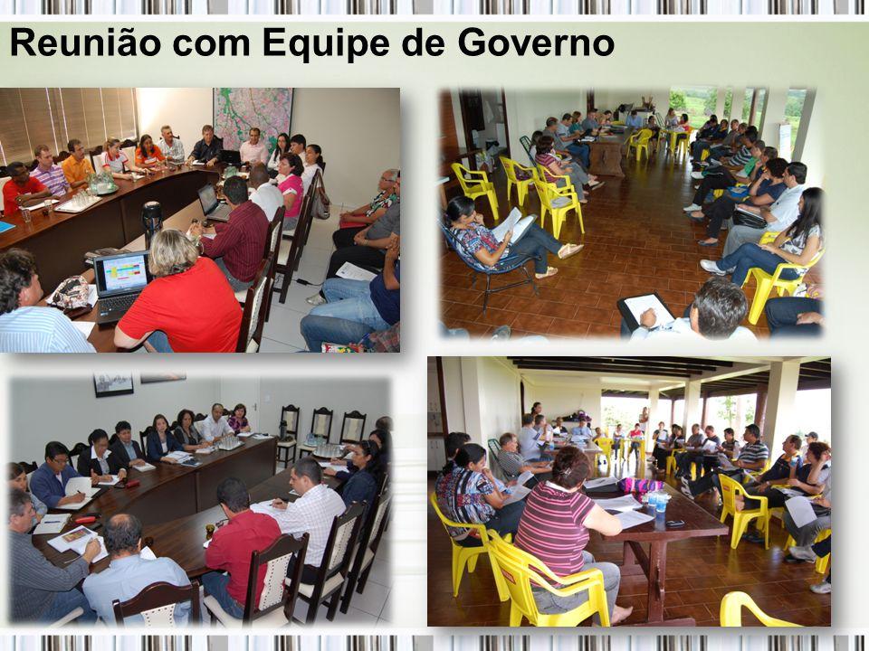 Reunião com Equipe de Governo