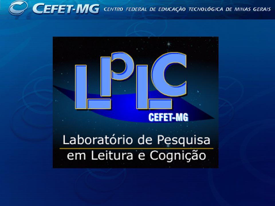 A leitura hipertextual como sistema complexo BOLSISTA: Diego Fagundes Pinheiro ORIENTADOR: Vicente Aguimar Parreiras