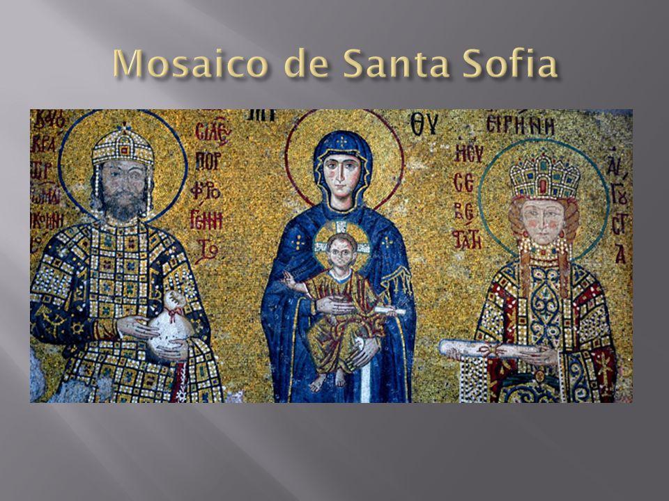 Os gregos já usavam a técnica do mosaico para decorar pisos.