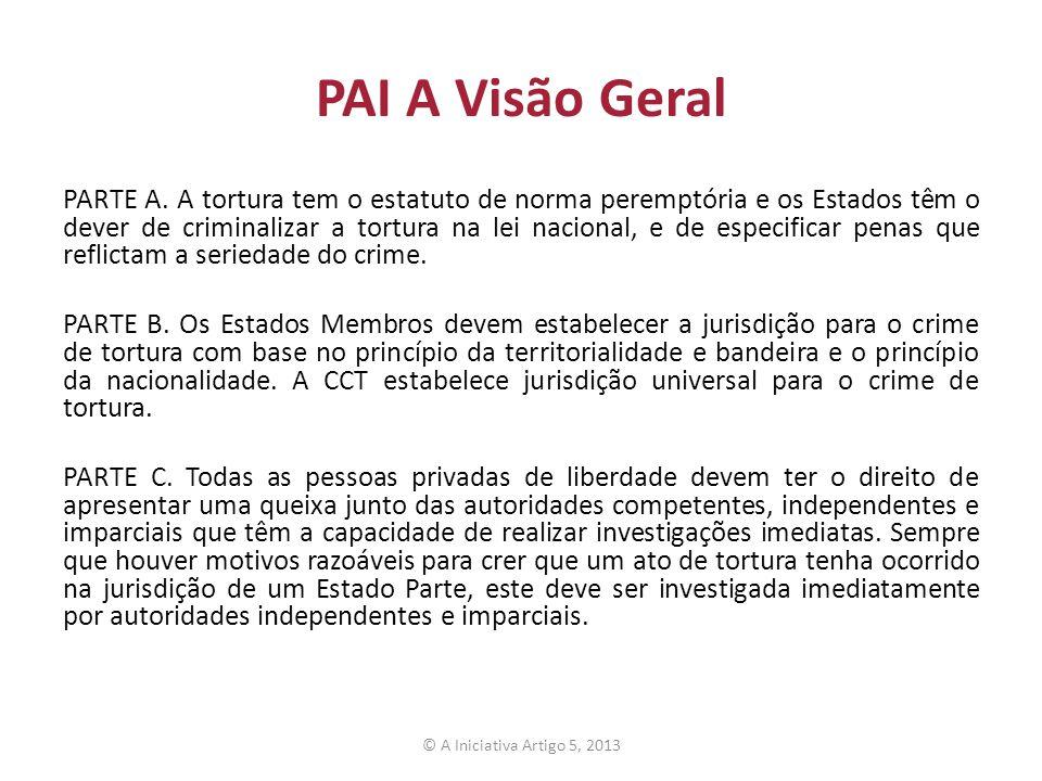 PAI A Visão Geral PARTE A.