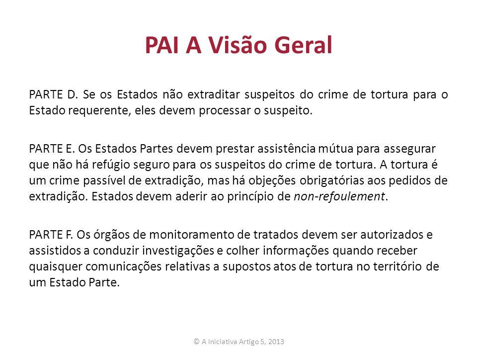 PAI A Visão Geral PARTE D.