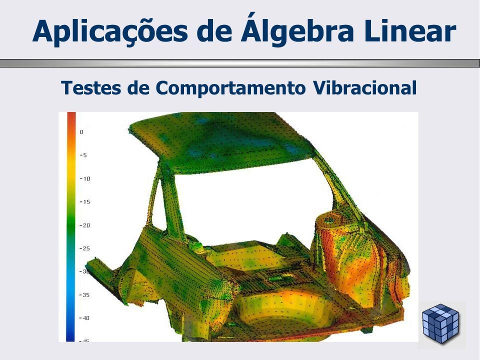 Testes de Comportamento Vibracional Aplicações de Álgebra Linear