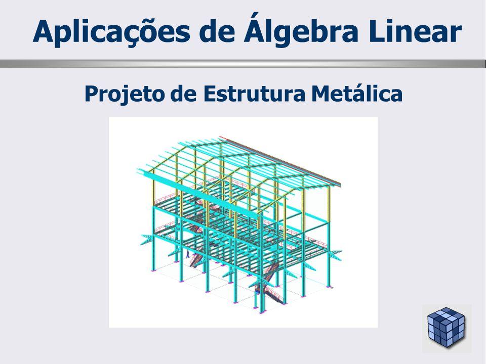 Projeto de Estrutura Metálica Aplicações de Álgebra Linear