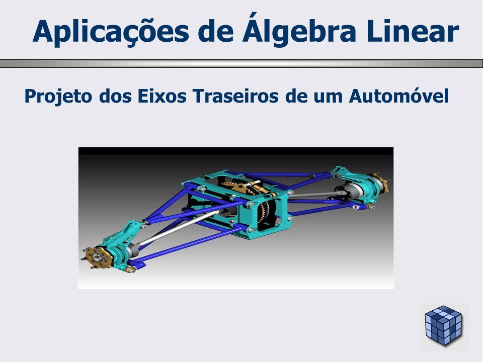 Projeto dos Eixos Traseiros de um Automóvel Aplicações de Álgebra Linear