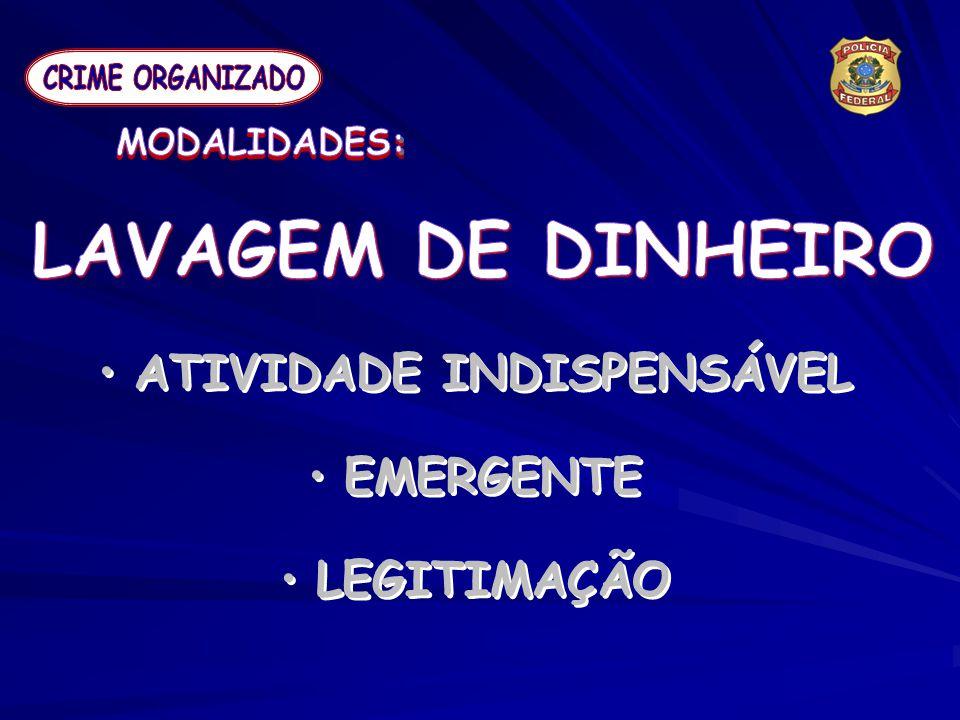 ATIVIDADE INDISPENSÁVEL EMERGENTE LEGITIMAÇÃO ATIVIDADE INDISPENSÁVEL EMERGENTE LEGITIMAÇÃO