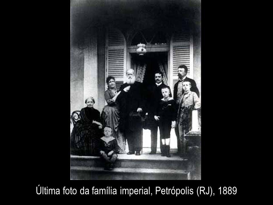 Última foto da família imperial, Petrópolis (RJ), 1889