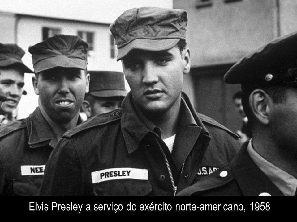 Elvis Presley a serviço do exército norte-americano, 1958