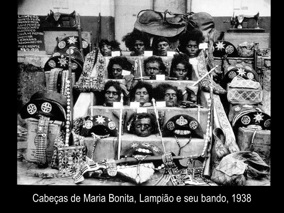 Cabeças de Maria Bonita, Lampião e seu bando, 1938