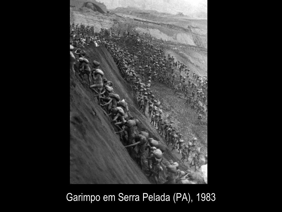 Garimpo em Serra Pelada (PA), 1983