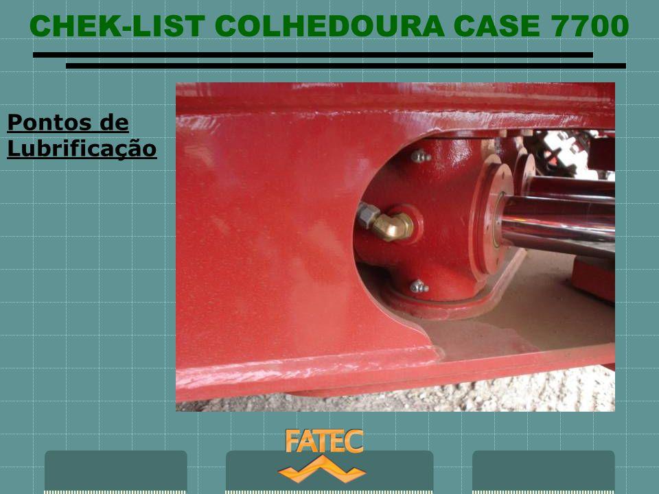 CHEK-LIST COLHEDOURA CASE 7700 Pontos de Lubrificação