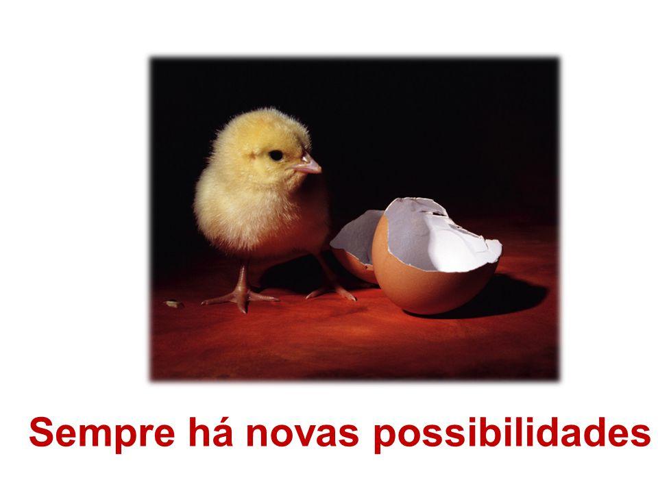 Sempre há novas possibilidades