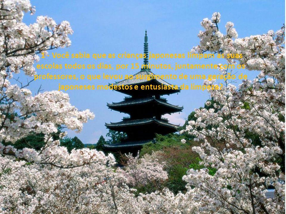 13 curiosidades sobre os japoneses...!!!