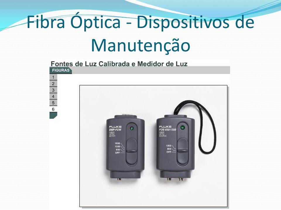 Fibra Óptica - Dispositivos de Manutenção