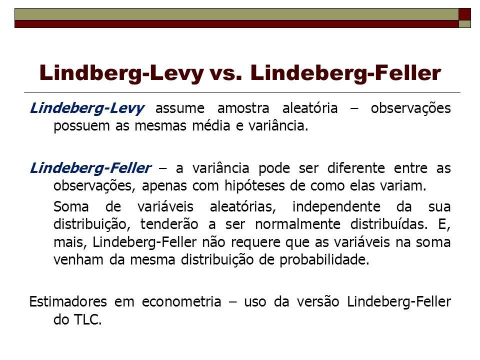 Lindberg-Levy vs.